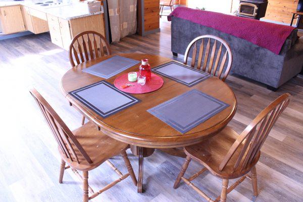 Cabin 5 Dining Room