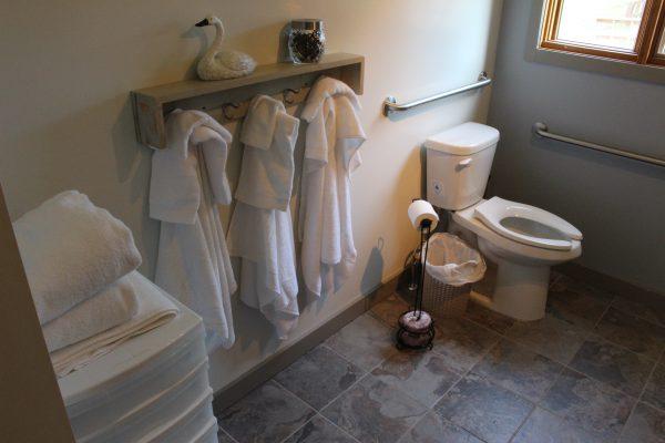 Cabin 2 Washroom from Angle