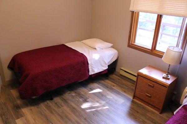 Cabin 2 Single Bed in Bedroom
