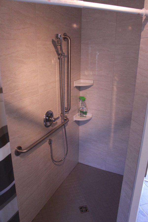 Cabin 1 Shower