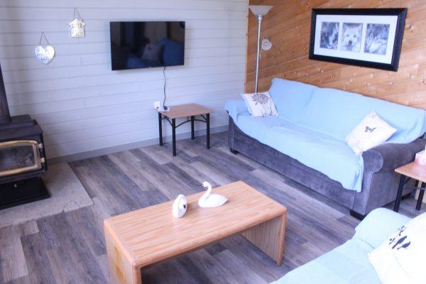 Cabin 1 Living Room